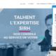 HomePage talent avec ChatBot